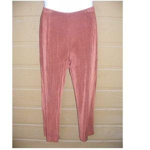 CHICOS TRAVELERS Pants, 2 Petite, Elastic Waist